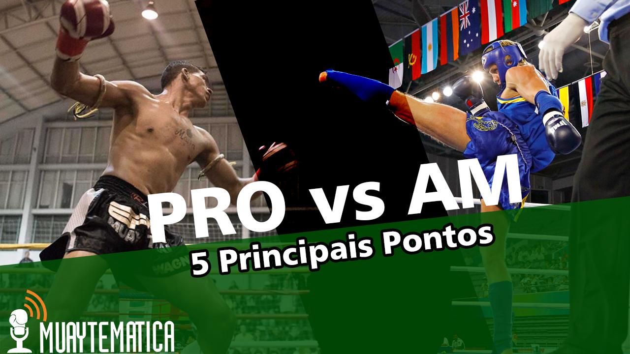 Profissional vs Amador