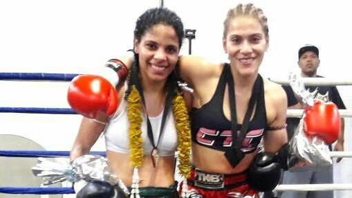Gabi empata com Vitória na melhor luta do Super Girls