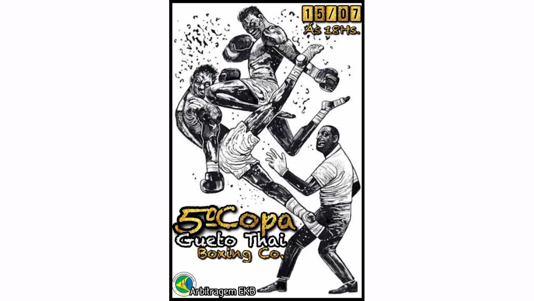 Amanhã tem Copa Gueto Thai em Carapicuíba