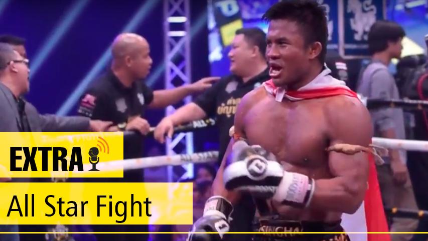 Buakaw nocauteia na estreia do All Star Fight; Pakorn vence Lobo por pontos