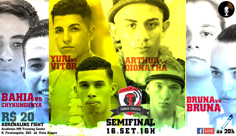 Adrenalina Fight traz semifinais do torneio e a volta de Bruna Ramires