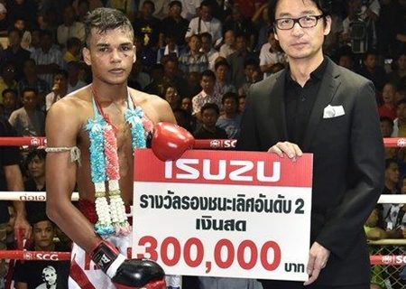 Video: Buakiew o novo campeão do Lumpinee 70kg