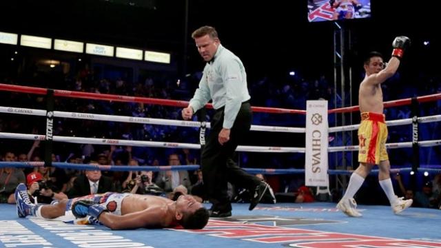 De lixeiro a campeão mundial de boxe