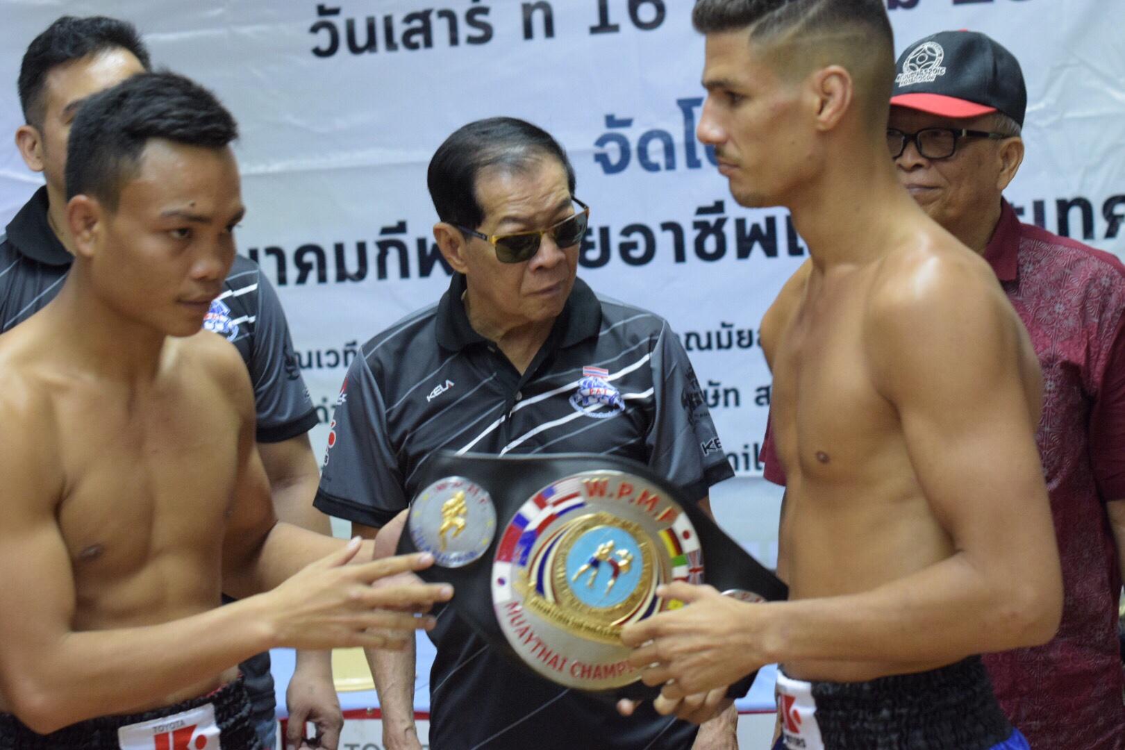 Show WPMF com Saulo e Lobo disputando cinturão