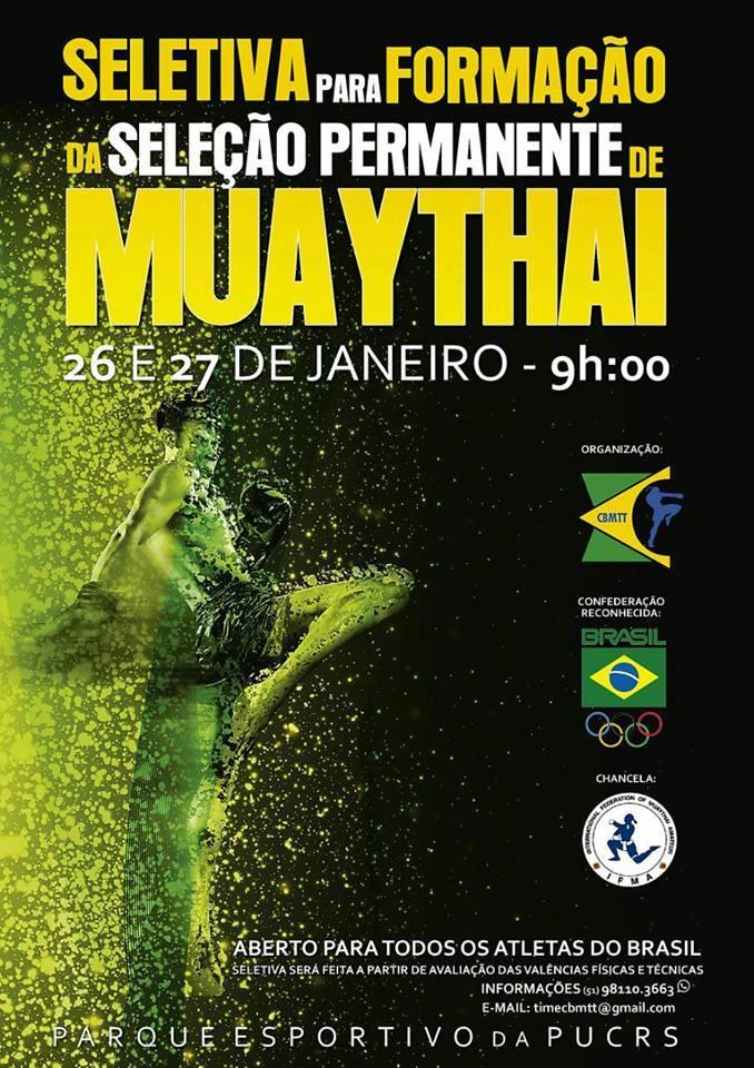 CBMTT organiza seleção física aberta em Porto Alegre