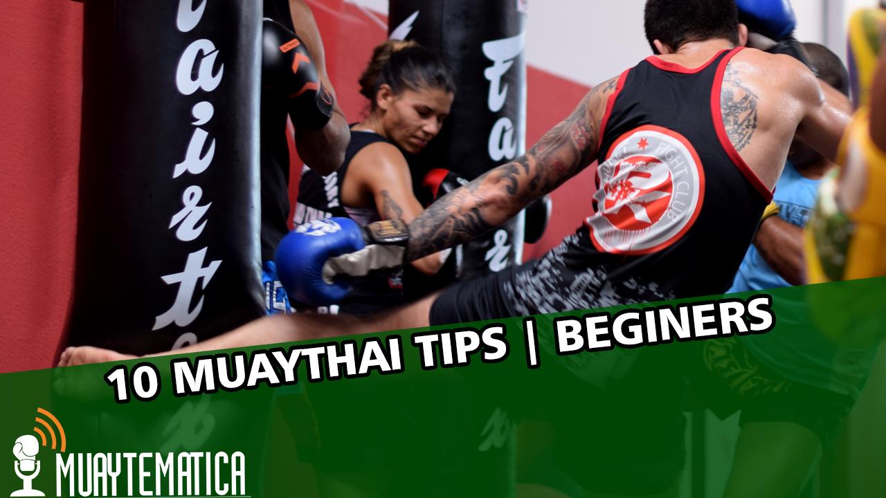 10 dicas para quem está iniciando no Muaythai