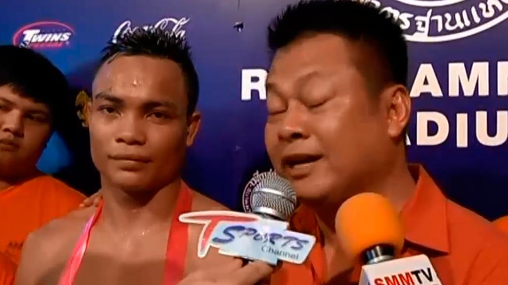 Intharachai é o novo campeão do Rajadamern, seu manager o novo promotor do Lumpinee