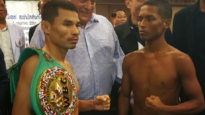 Who is the Thai that equals Mayweather record