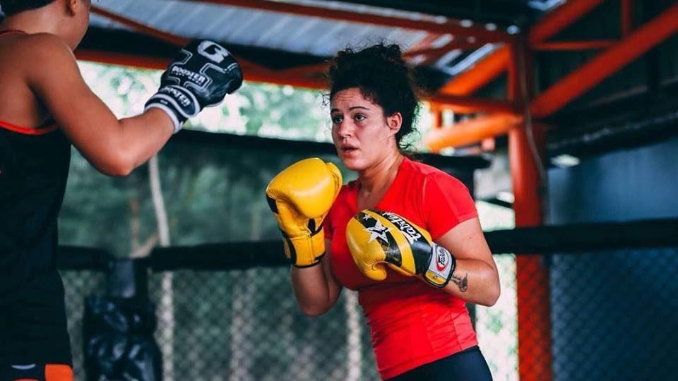 Iniciando no MMA na Tailândia com Claudia Diaz