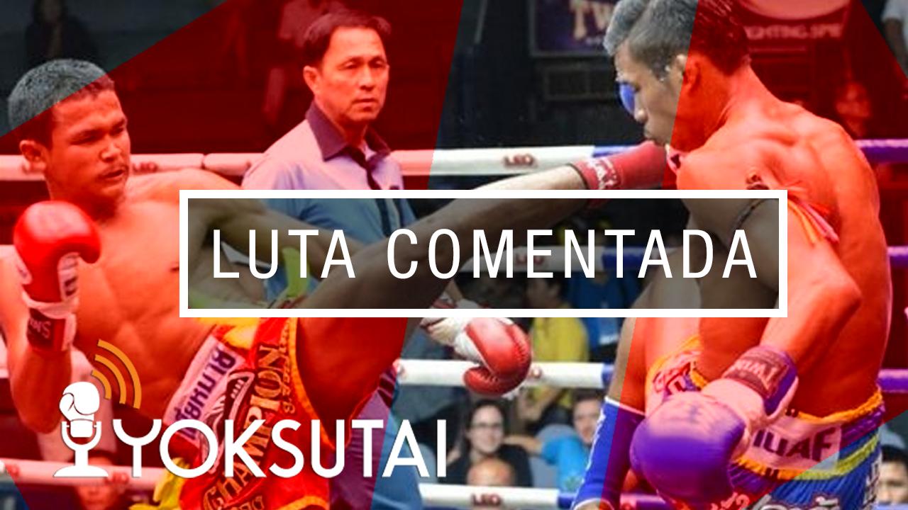Luta comentada entre Petch Uthong contra Superlek