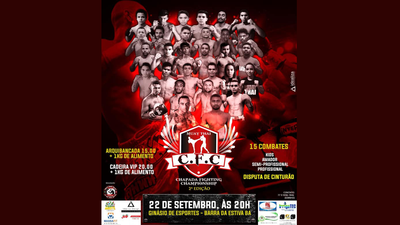 Chapada Fight reúne alguns dos melhores do Nordeste
