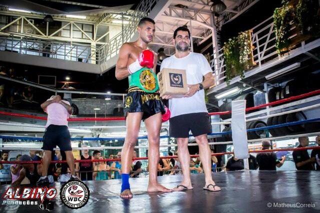 Julio Maximus vence cinturão nacional WBC