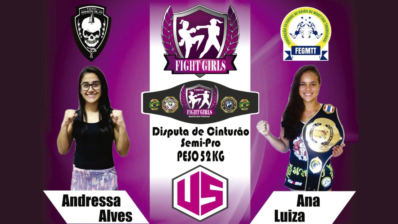 Fight Girls, evento feminino em Goiânia