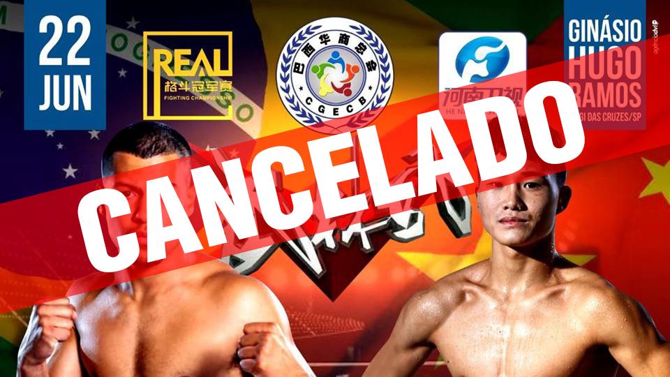 Evento de kickboxing cancelado após pesagem