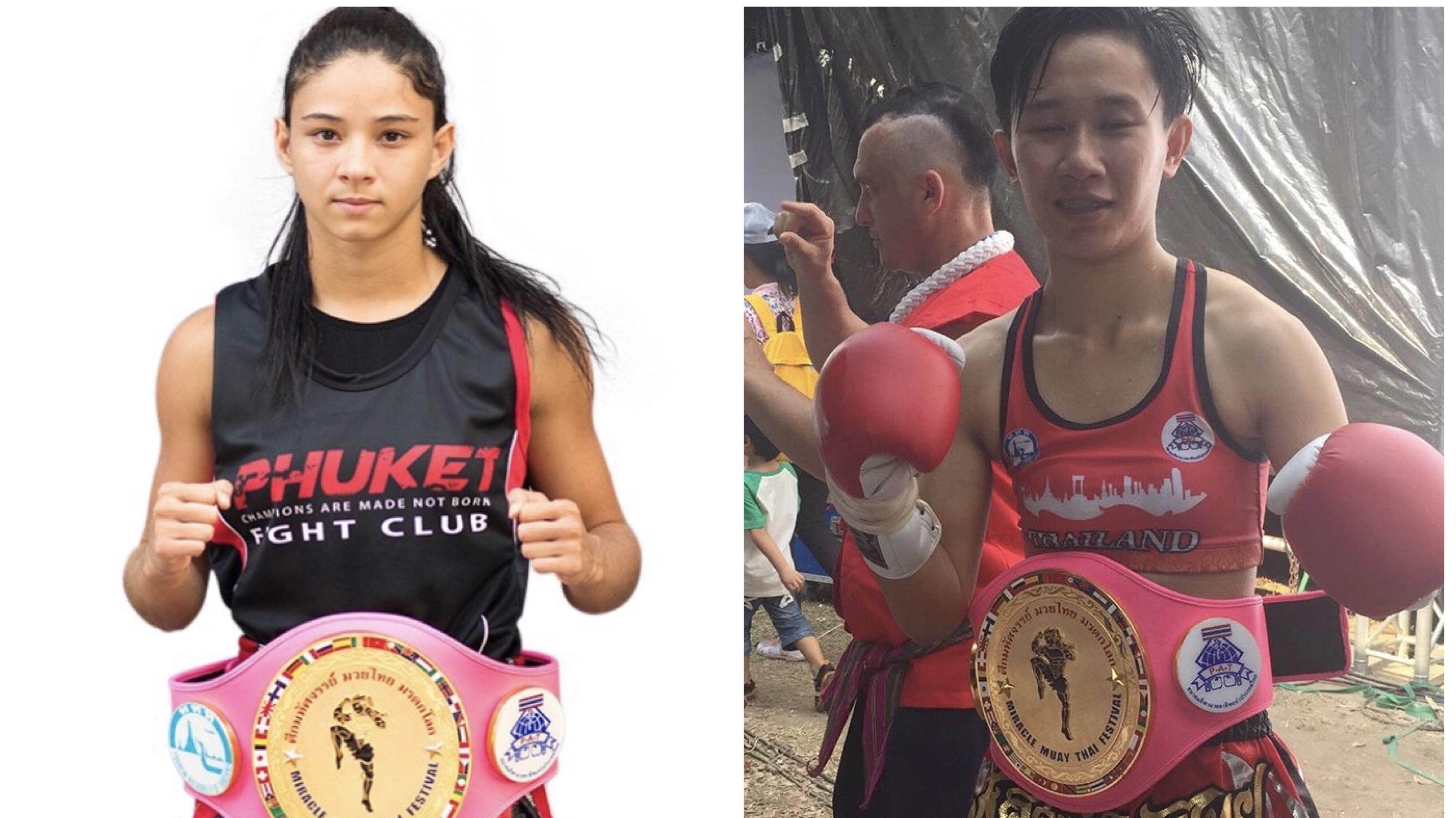 Allycia disputa cinturão tailandês