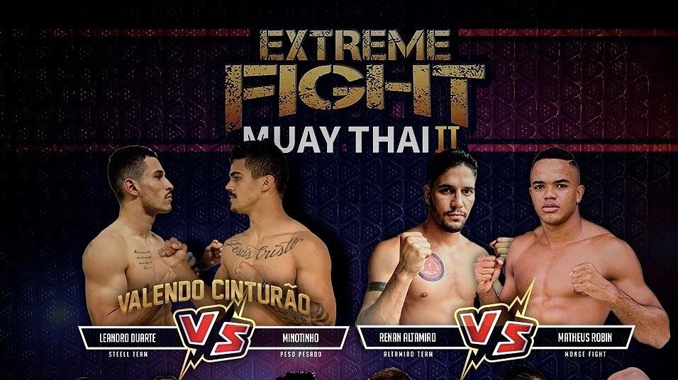Extreme Fight traz campeões de diversas organizações em sua próxima edição