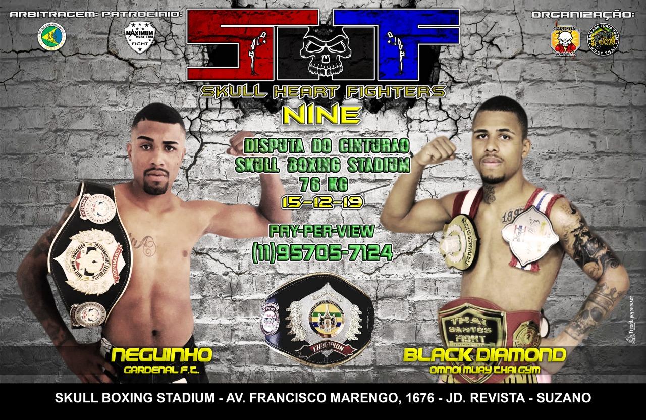 Fechando 2019, SHF 9 traz lutas com luvas de MMA, GP's e cinturão do Skull