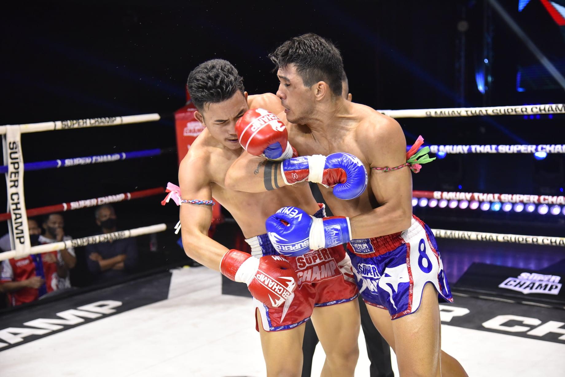 Natã empata na luta principal do Muaythai Super Champ