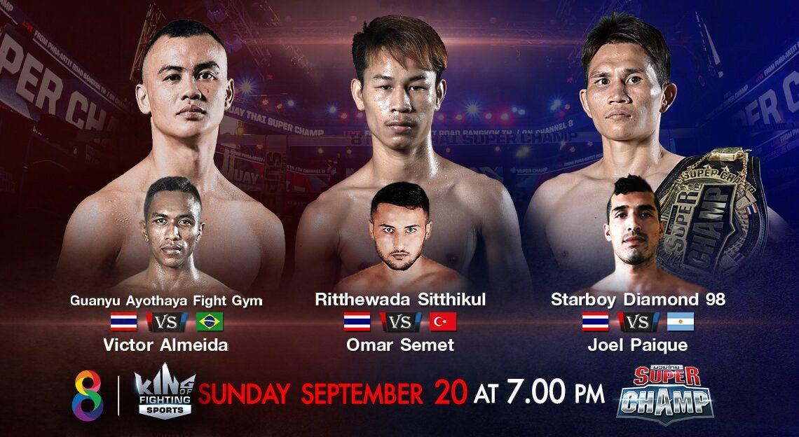 Ritthewada de volta ao Super Champ; Victor novamente no card