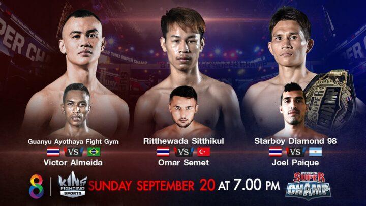 Ritthewada de volta ao Super Champ; Victor