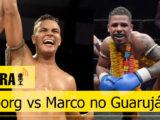 De última hora, Carlos Cyborg enfrenta Marco Black Diamond no Guarujá