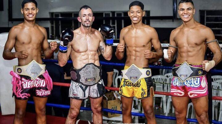 Império Muaythai leva 3 campeões do Portuários para disputas em Minas Gerais