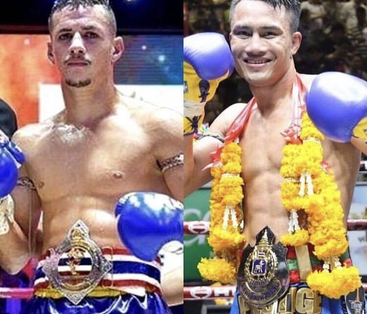 Campeão tailandês contra campeão do Lumpinee domingo no World Siam Stadium