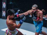 Ilias Ennahachi defende cinturão de kickboxing contra Superlek
