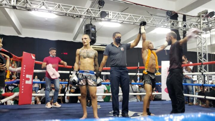 Leandro vira as 2 lutas e vence GP do Thailand  Tiger Fight