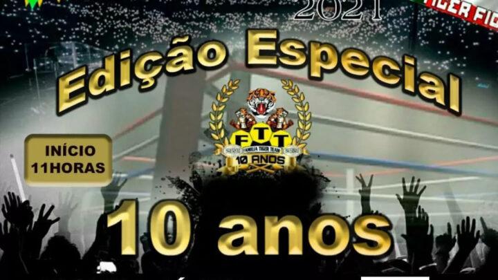 FTT comemora 10 anos com  um dos melhores cards do ano